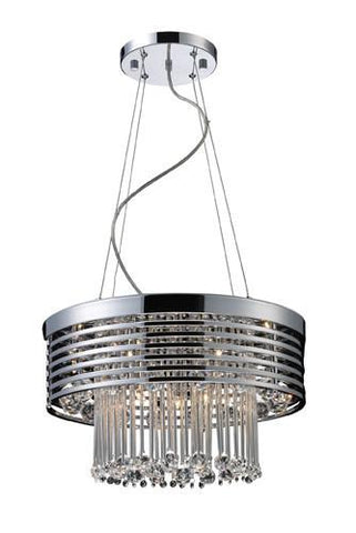 ELK Lighting 30015-13 Rados Thirteen Light Pendant In Polished Chrome - PeazzLighting