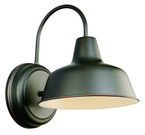 Design House 519504 Mason Rlm Wall Mount Oil Rubbed Bronze - PeazzLighting