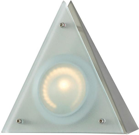 Cornerstone A722/29 Aurora 1 Light Wedge Disc Light In Stainless Steel - PeazzLighting