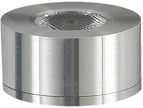 Cornerstone A739DL/29 Alpha Collection 1 Light LED Surface Mount Button In Brushed Aluminum - PeazzLighting