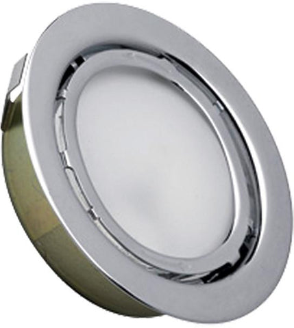Cornerstone A710DL/29 Aurora 1 Light Recessed Disc Light In Stainless Steel - PeazzLighting