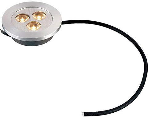 Cornerstone A730DL/29 Alpha Collection 3 Light Recessed LED Light In Brushed Alumium - PeazzLighting