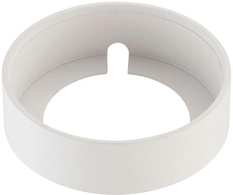 Cornerstone A731DL/40 Alpha Collection Surface Mount Collar In White - PeazzLighting