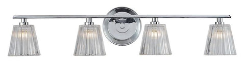 ELK Lighting Calais 4- Light Bathbar In Polished Chrome - 31165/4 - PeazzLighting