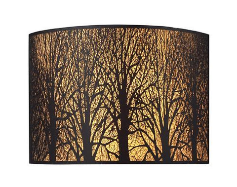 ELK Lighting 31070-2 Woodland Sunrise Two Light Sconce In Aged Bronze - PeazzLighting