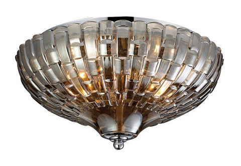 ELK Lighting Crystal Flushmounts 2- Light Flushmount In Polished Chrome - 31250/2 - PeazzLighting