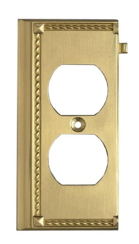 ELK Lighting Clickplates Brass End Switch Plate - 2506BR - PeazzLighting