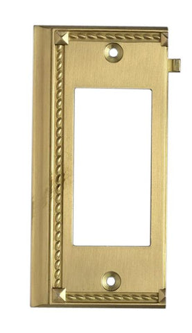 ELK Lighting Clickplates Brass End Switch Plate - 2508BR - PeazzLighting