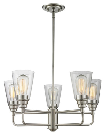 Z-Lite 428-5-BN 5 Light Chandelier - ZLiteStore