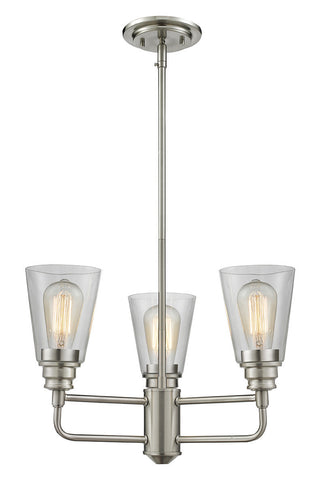 Z-Lite 428-3-BN 3 Light Chandelier - ZLiteStore