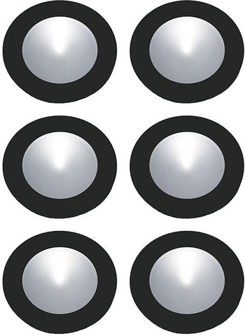 Cornerstone A706DL/60 Ursa Collection 6 Light Disc Light Kit In Black - PeazzLighting