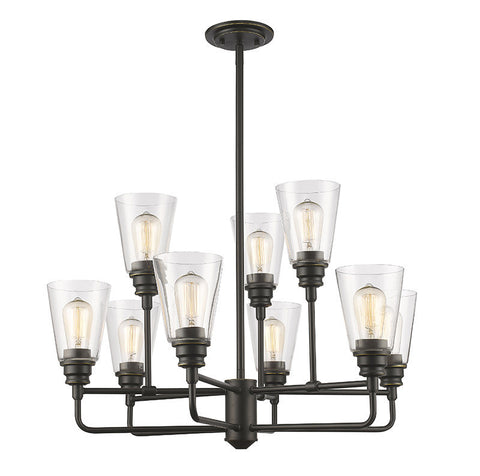 Z-Lite 428-9-OB 9 Light Chandelier - ZLiteStore