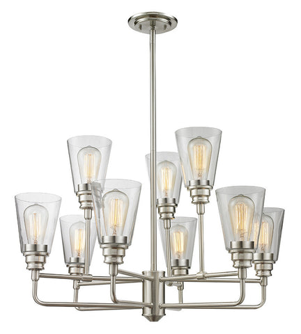 Z-Lite 428-9-BN 9 Light Chandelier - ZLiteStore