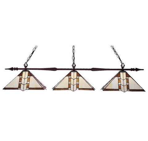 Z-Lite Aztec Bronze 3 Light Billiard 88103BRZ-Z14-608 - ZLiteStore