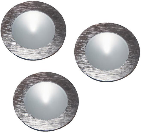 Cornerstone A703DL/29 Ursa Collection 3 Light Disc Light Kit In Brushed Aluminum - PeazzLighting