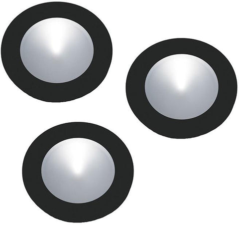Cornerstone A703DL/60 Ursa Collection 3 Light Disc Light Kit In Black - PeazzLighting