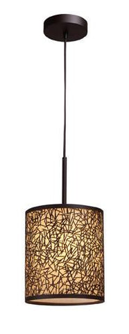 ELK Lighting 31066-1 Confetti One Light Pendant In Aged Bronze - PeazzLighting