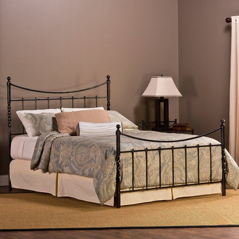 Hillsdale Furniture 1161BKR Sebastion Bed Set - King - w/ Rails - HillsdaleSuperStore