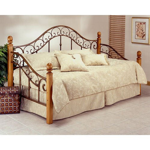 Hillsdale 138DBLHTR San Marco Daybed w/Suspension Deck and Trundle - HillsdaleSuperStore
