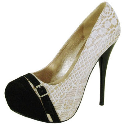 Neutral-330 Buckle Close Toe Pump - Peazz.com