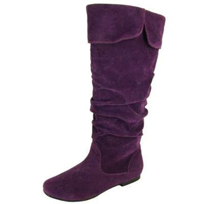 Neo-100XX Suede Slouchy Knee High Boot - Peazz.com