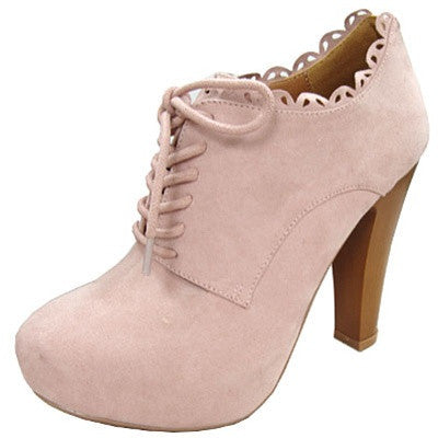 Puffin-34 Lace Up Oxford Ankle Bootie - Peazz.com