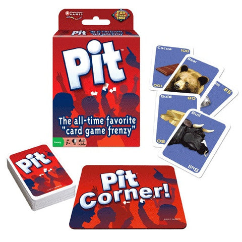 Winning Moves Games TWMG-05 Pit Card Game - Peazz.com