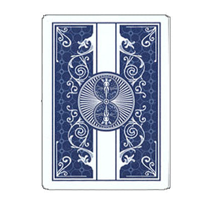 Brybelly USP-2121S 100% Plastic Bicycle Prestige Blue Poker Size Playing Cards