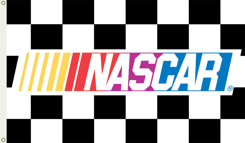 Nascar Checkered 3 Ft. X 5 Ft. Flag W/Grommetts