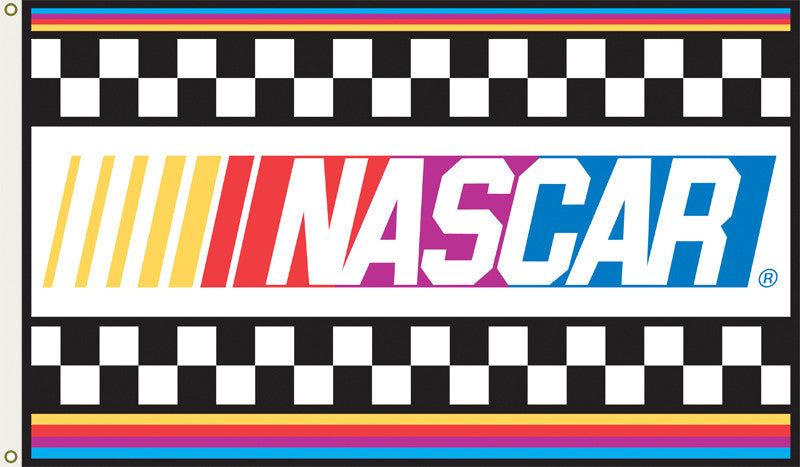 Nascar 2-Sided 3 Ft. X 5 Ft. Flag W/Grommets