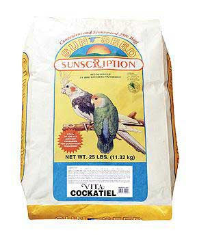 Cockatiel Vita - mix 25lb