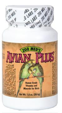 2 Quantity of Avian Plus Bird Vitamins 1oz - Peazz.com