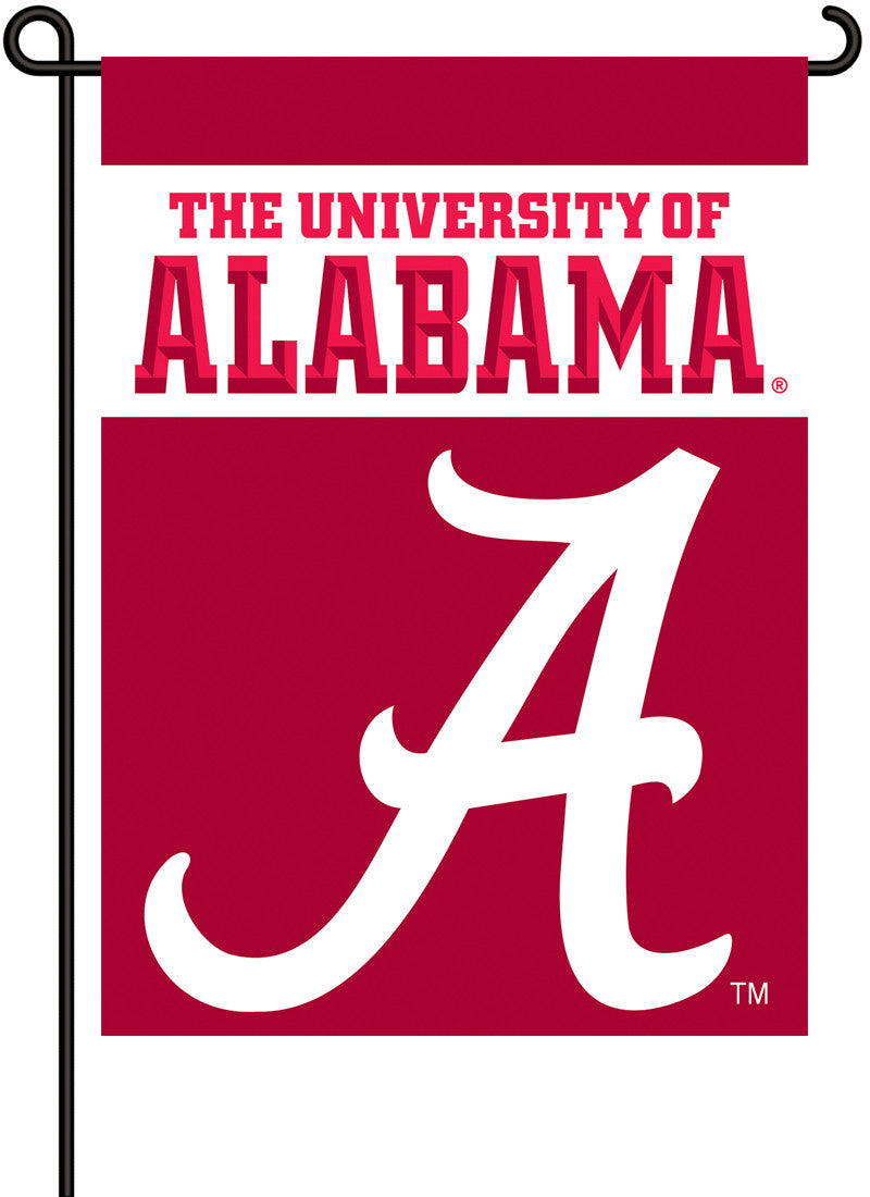 Alabama Crimson Tide 2-Sided Garden Flag BSI-83002