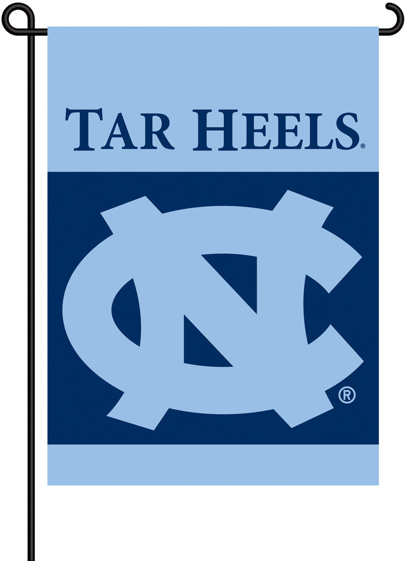 North Carolina Tar Heels 2-Sided Garden Flag