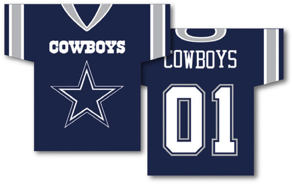 Dallas Cowboys Jersey Banner 34u0026quot; x 30u0026quot; - 2-Sided