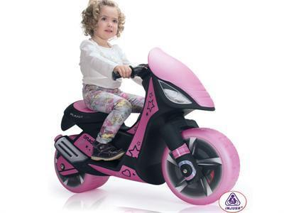 Injusa Inj-6872 Dragon Scooter 6v Pink - Peazz.com