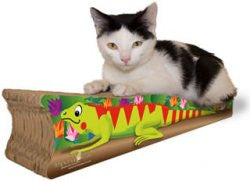 Imperial Cat Animal Scratch 'n Shapes Small Iguana - Peazz.com