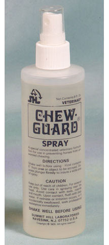 Chew Guard Spray For Horses, 8 oz. - Peazz.com