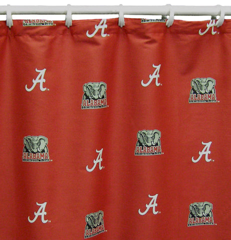 "Alabama Printed Shower Curtain Cover 70"" X 72"" - ALASC by College Covers - Peazz.com"