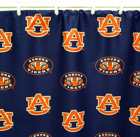 "Auburn Printed Shower Curtain Cover 70"" X 72"" - AUBSC by College Covers - Peazz.com"