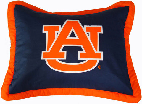 Auburn Printed Pillow Sham - AUBSH by College Covers - Peazz.com