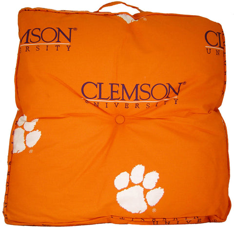 Clemson Floor Pillow - CLEFP by College Covers - Peazz.com