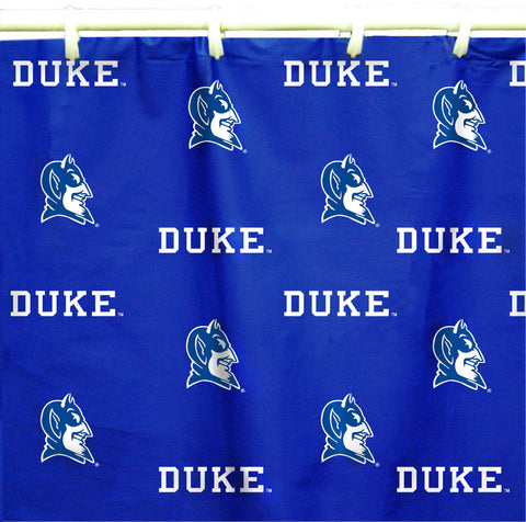 "Duke Printed Shower Curtain Cover 70"" X 72"" - DUKSC by College Covers - Peazz.com"