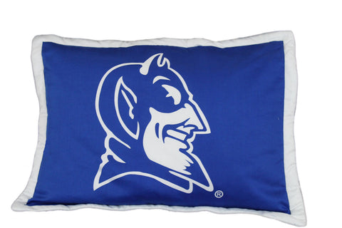 Duke Printed Pillow Sham - DUKSH by College Covers - Peazz.com