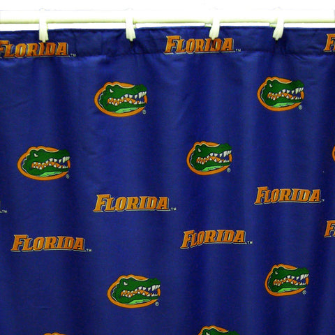 "Florida Printed Shower Curtain Cover 70"" X 72"" - FLOSC by College Covers - Peazz.com"