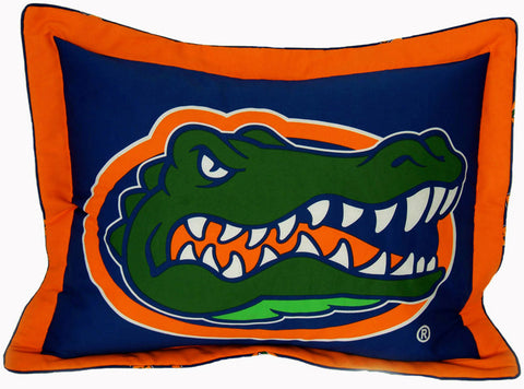 Florida Printed Pillow Sham - FLOSH by College Covers - Peazz.com