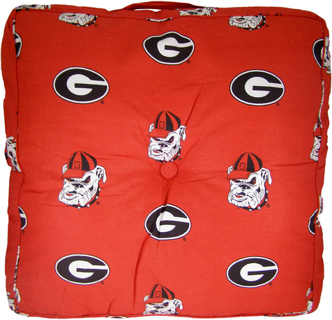 Georgia Floor Pillow - GEOFP by College Covers - Peazz.com