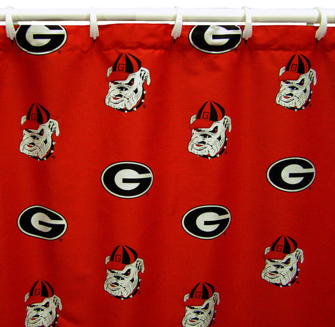 "Georgia Printed Shower Curtain Cover 70"" X 72"" - GEOSC by College Covers - Peazz.com"