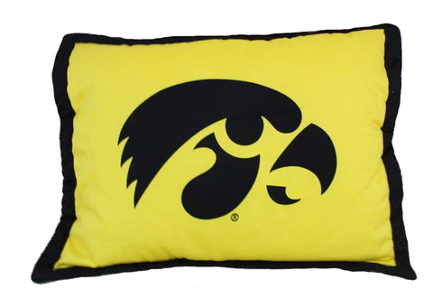 Iowa Printed Pillow Sham - IOWSH by College Covers - Peazz.com