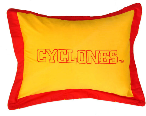 Iowa State Printed Pillow Sham - ISUSH by College Covers - Peazz.com